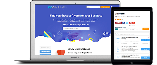 affiliate website design